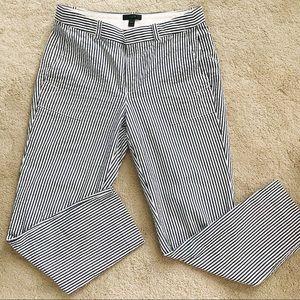 J. Crew seersucker pants